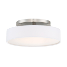 WAC US FM-13114-BN - MANHATTAN 14IN FLUSH MOUNT 2700K