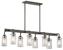 Kichler 43457OZ - Linear Chandelier 8Lt