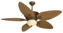 "Craftmade K10241 - Pavilion 52"" Ceiling Fan Kit in Aged Bronze Textured"