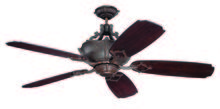"Craftmade K11061 - Wellington XL 52"" Ceiling Fan Kit in Aged Bronze Textured"
