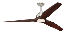 "Craftmade LIM60BNK - Limerick 52"" Ceiling Fan in Brushed Polished Nickel (Blades Sold Separately)"