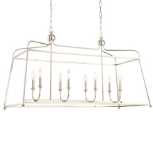 Crystorama 2249-PN_NOSHADE - Libby Langdon for Crystorama Sylvan 6 Light Polished Nickel Chandelier