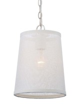 Crystorama 2290-PN - Libby Langdon for Crystorama Culver 1 Lt Polished Nickel Pendant