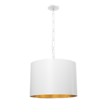 Crystorama 8686-MT-GA - Brian Patrick Flynn for Crystorama Alston 6 Light Matte White Chandelier