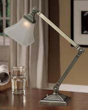 Lite Master T5848AN-445 - Nickel Desk Lamp