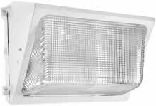RAB Lighting WP2SH150W - WALLPACK 150W HPS 120V NPF GLASS LENS + LAMP WHITE