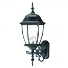 Acclaim Lighting 5013BK - Wexford Collection Wall-Mount 3-Light Outdoor Matte Black Light Fixture