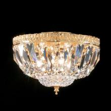 Lighting One US V9-L130245G33 - Three Light Gold Bowl Flush Mount
