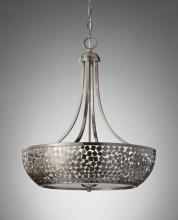 Feiss F2745/4BS - 4- Light Chandelier