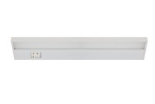 Elegant UCL1610WH - LED UNDER CABINET LIGHTS, 2700K/3000K/4000K, 106�, CRI90, ETL, 10W, 65W EQUIVALENT, 50000HRS, LM900,