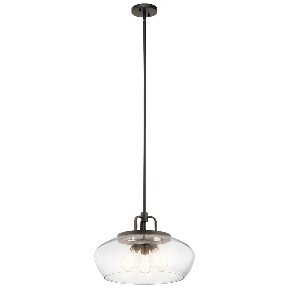 Pendant/Semi Flush 3Lt  sc 1 st  Brechers Lighting & Pendant/Semi Flush 3Lt : 43904OZ | Brechers Lighting