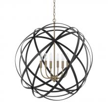 Capital 4236AB - 6 Light Pendant